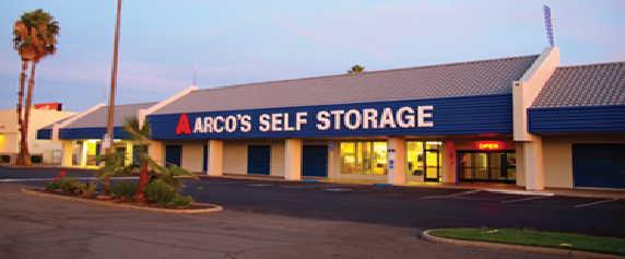 Logo · Climate Controlled Storage Stockton