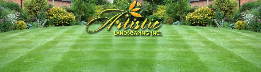 artistic landscaping inc lawn care in maryland